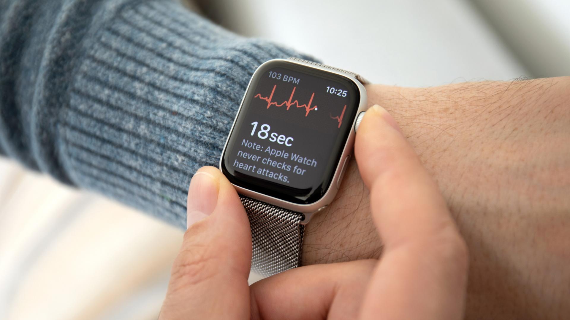 Vignette de la formation : Apprendre à lire un ECG avec une montre connectée